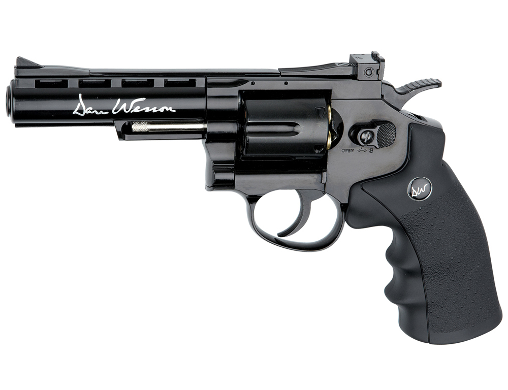ASG Dan Wesson 4-Inch CO2 Steel BB Revolver