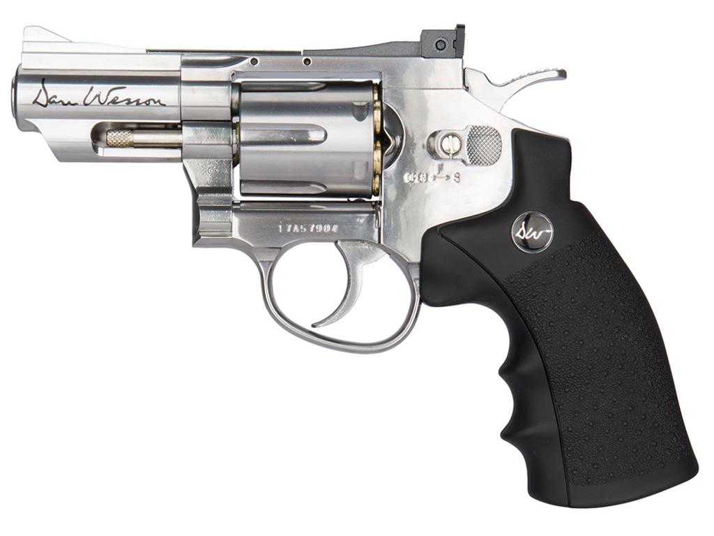 ASG Dan Wesson 2.5 Inch CO2 Steel BB Revolver
