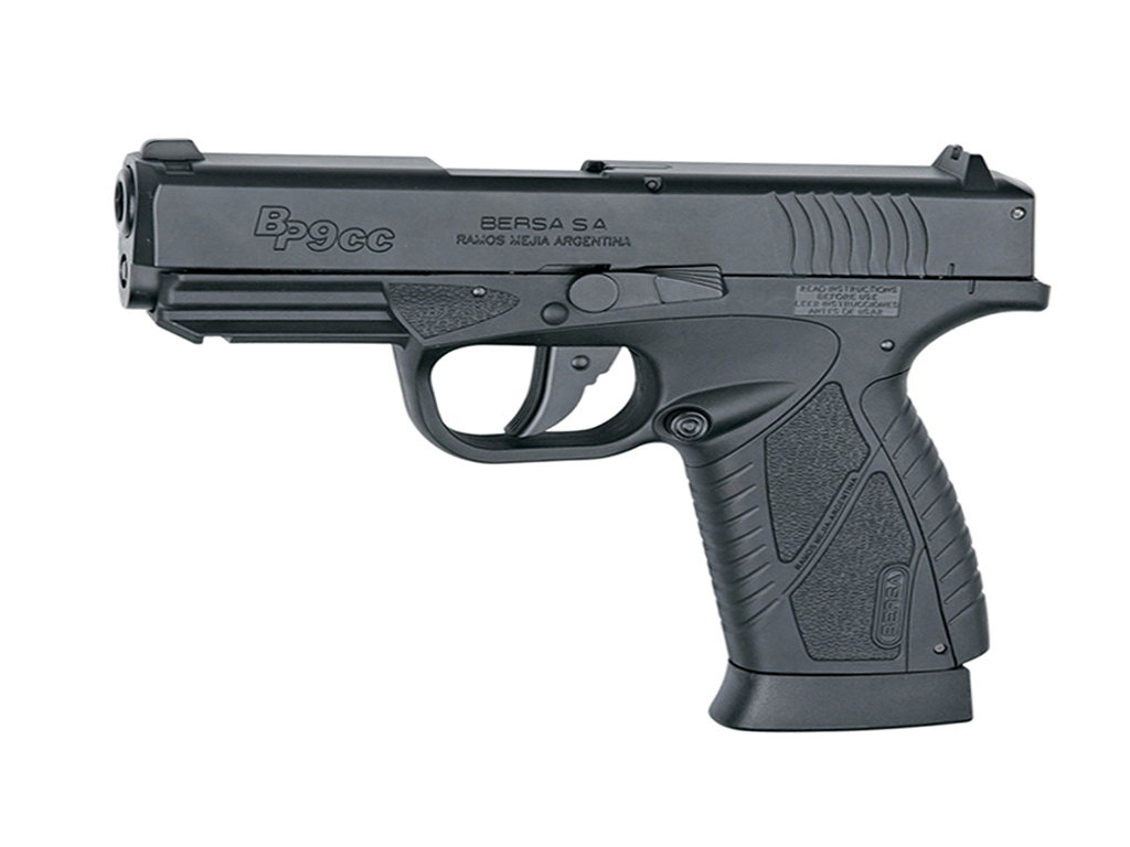 ASG Bersa BP9CC CO2 NBB Steel BB gun