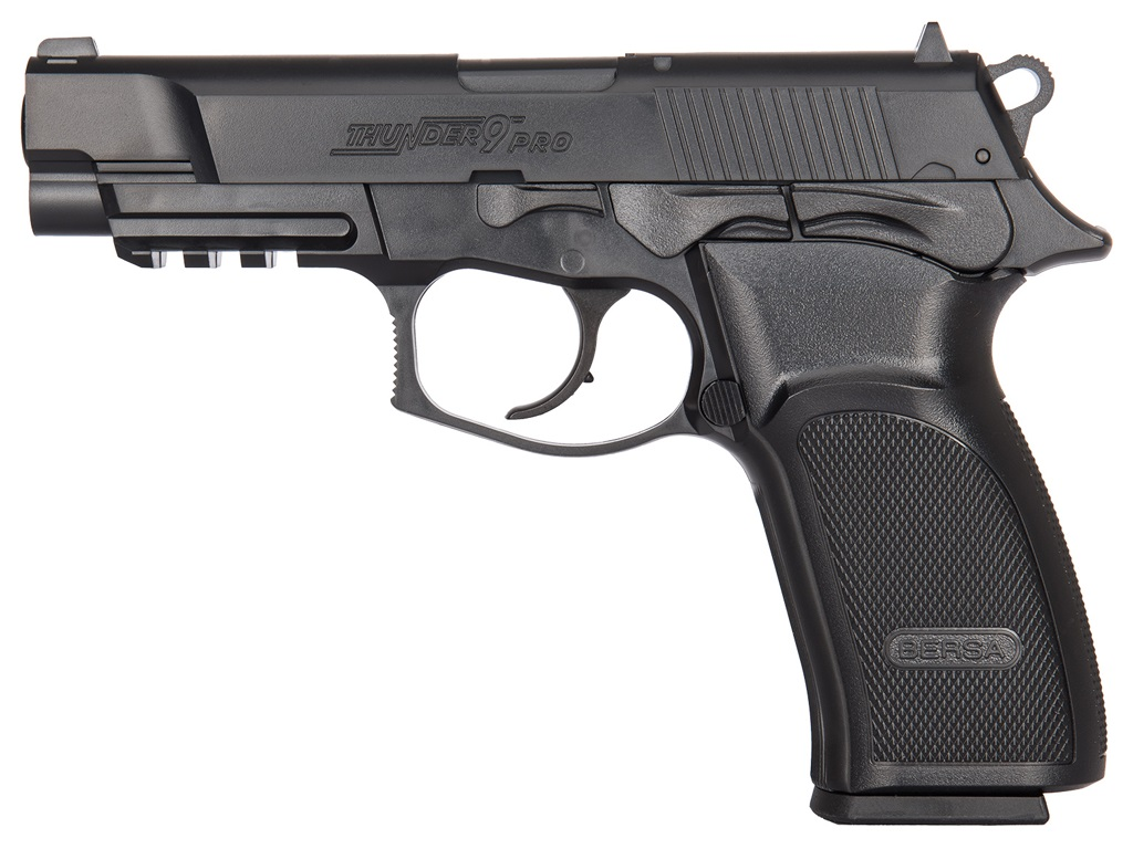 ASG Bersa Thunder 9 PRO CO2 NBB Steel BB Pistol