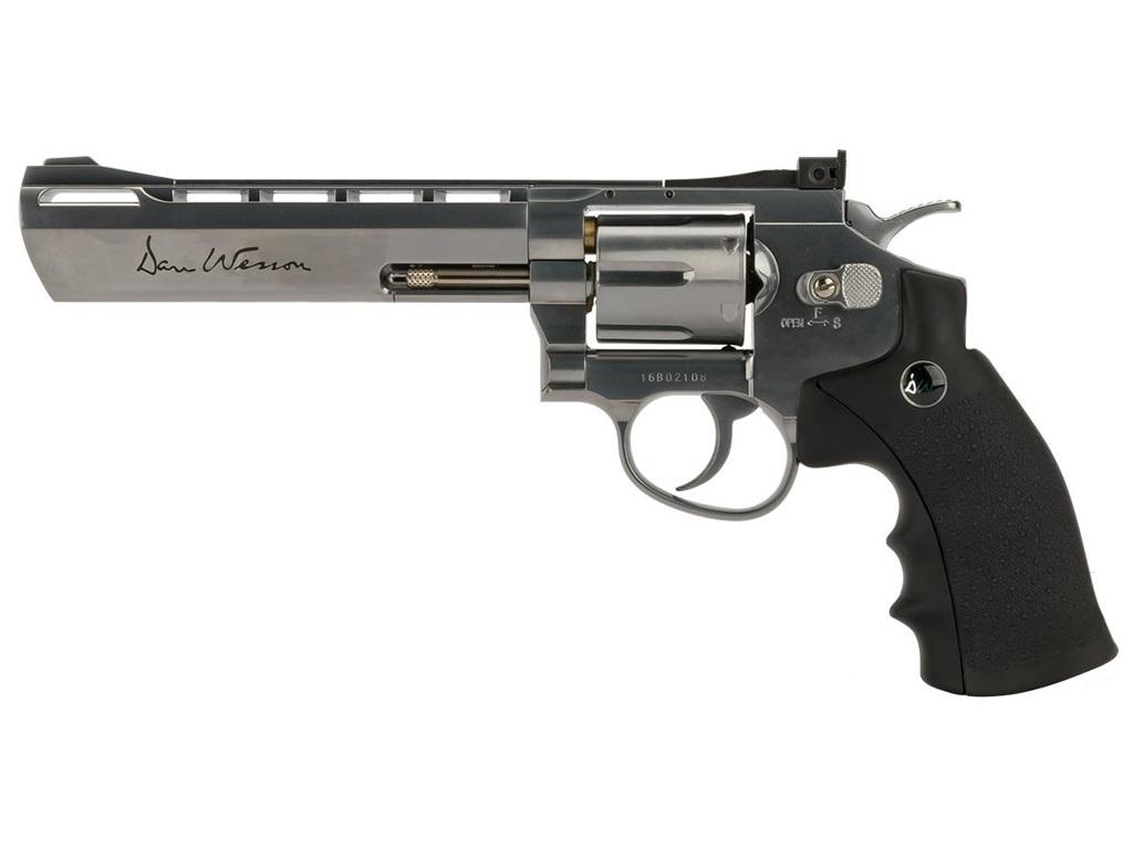 Dan Wesson Silver CO2 Pellet Revolver