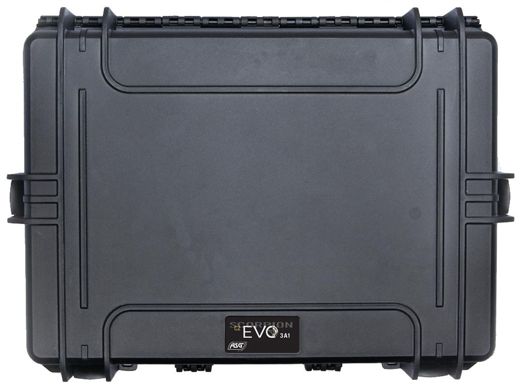 ASG Scorpion EVO 3A1 Black Plastic Field Case
