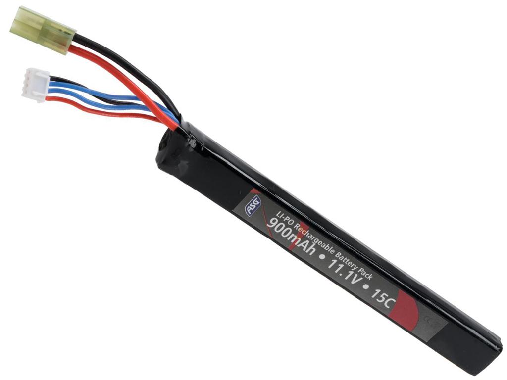 ASG 11.1V 900mAh LiPo Stick Type AEG Battery