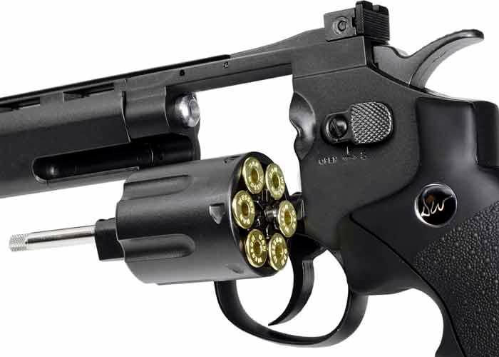 ASG Dan Wesson 6 Inch CO2 Airsoft Revolver
