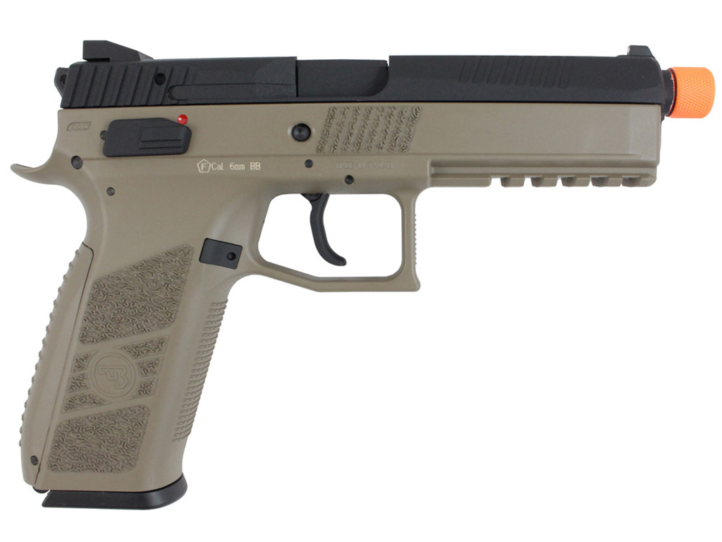 ASG CZ P-09 Suppressor Ready GBB Blowback Airsoft Pistol