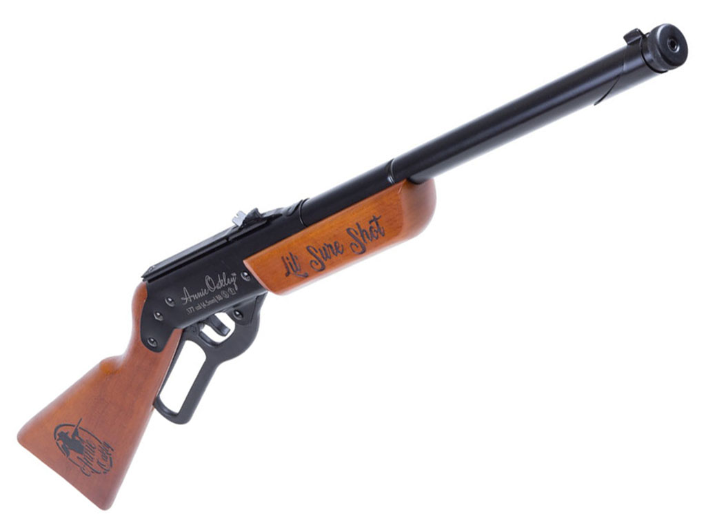 Air Venturi Annie Oakley Lil' Sure Shot Spring NBB Steel BB Rifle