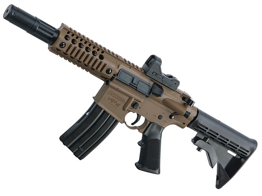 Crosman Bushmaster MPW CO2 Powered Steel BB Rifle