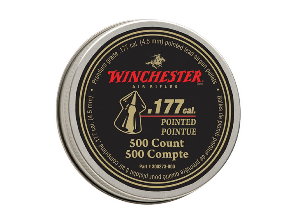 Daisy Winchester Pointed .177 Cal Pellets 500-Pack