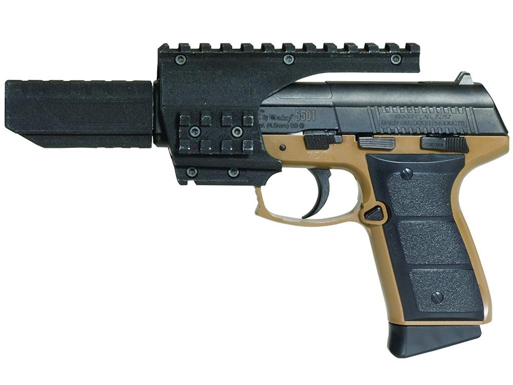 Daisy 5502 BB Pistol CO2 Blowback w. Rails