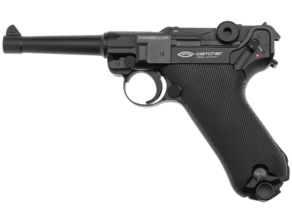 Gletcher Parabellum CO2 Blowback Steel BB Pistol