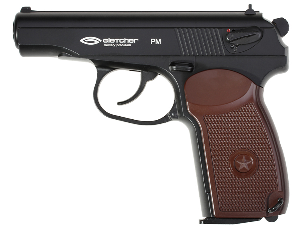 Gletcher PM CO2 NBB Steel BB Pistol