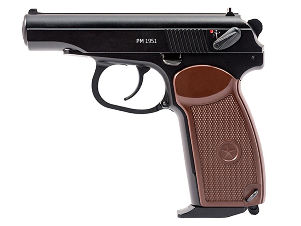 Gletcher PM1951 CO2 Blowback Steel BB Pistol