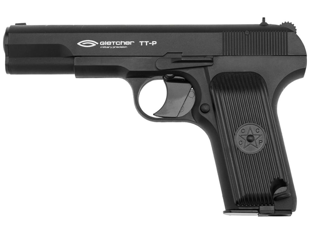 Gletcher TT-P CO2 NBB Steel BB Pistol