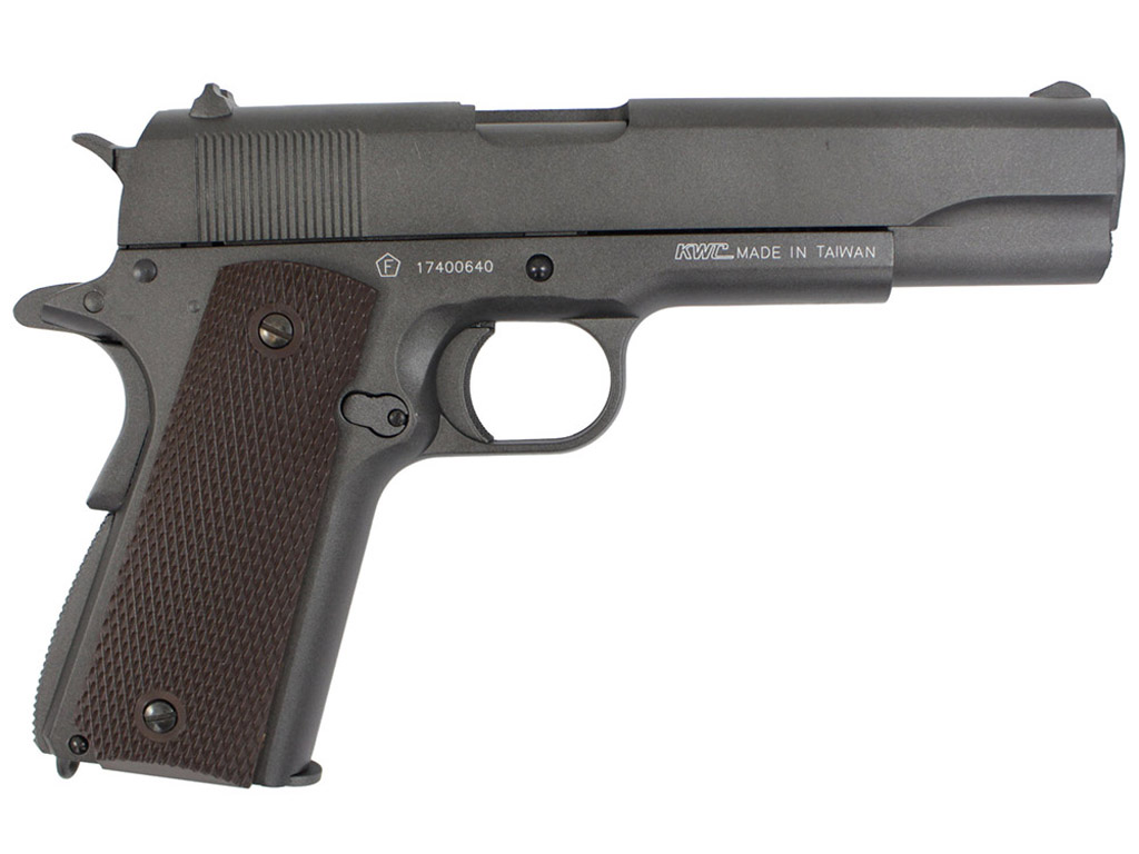 KWC 1911 Tanfoglio Witness CO2 Blowback Steel BB Pistol