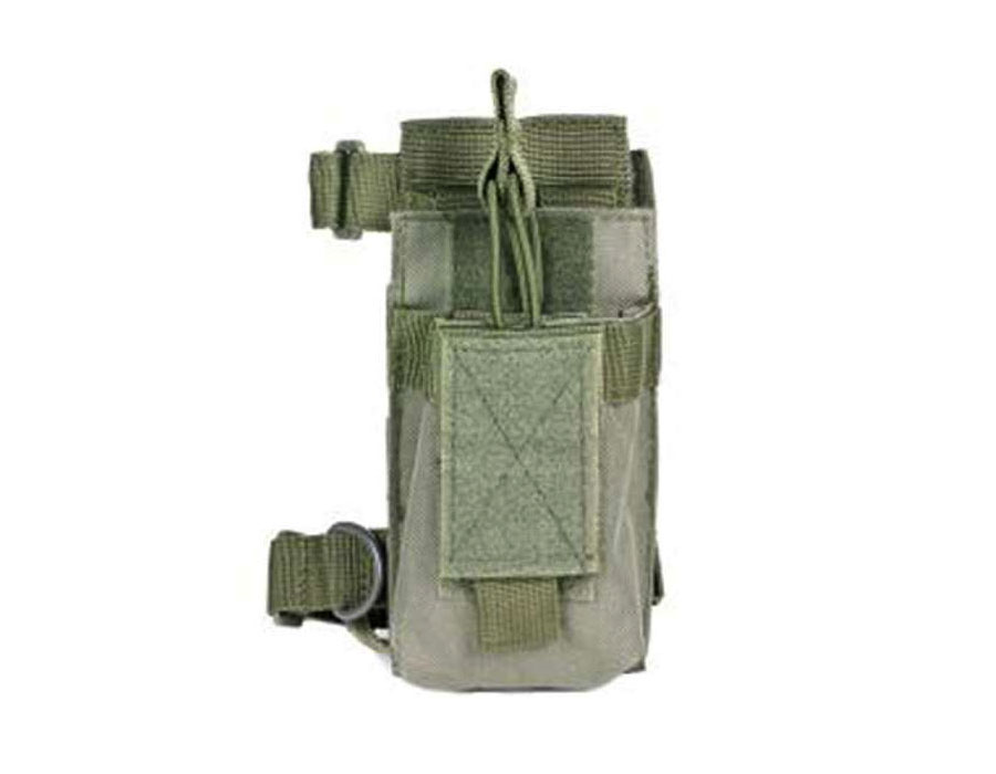 Ncstar Green AR Single Magazine Pouch With Stock Adapter