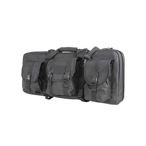 Ncstar28-Inch Deluxe AR/AK Grey gun Case