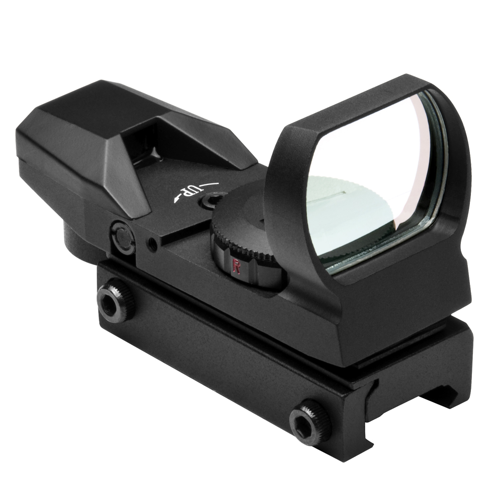Ncstar Red And Green Dot Reflex Black Sight With Weaver Base