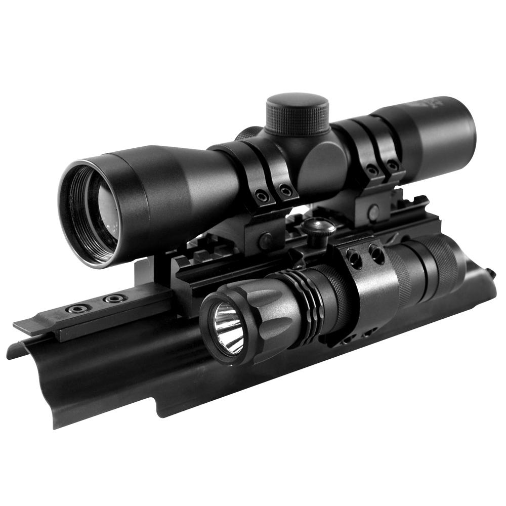 Ncstar Sights N Lights AK-47 Riflescope Combo