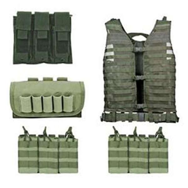 Ncstar Green Zombie Dead Ops Kit