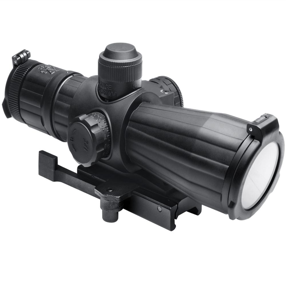 Ncstar SRT Series 4X32 P4 Sniper Quick Release Green Lens