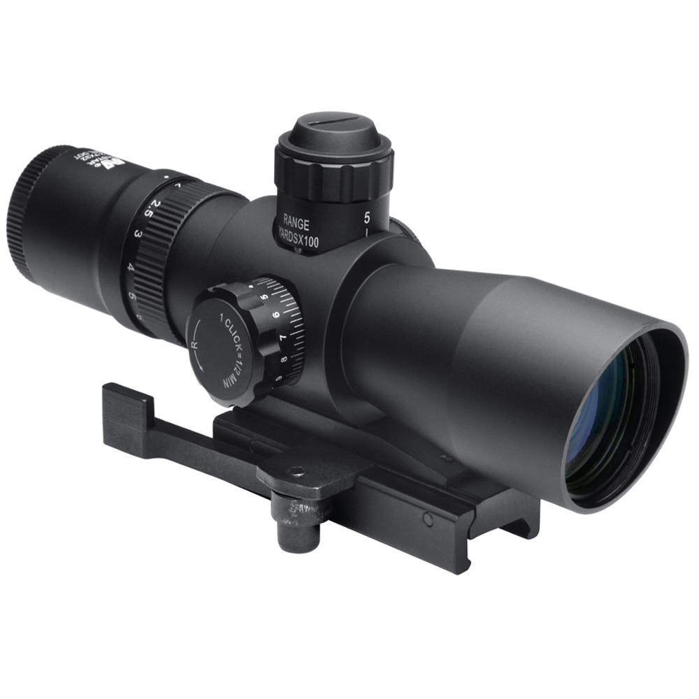Ncstar Compact Red/Green Illuminated 2X7x32 Scope With Quick Release