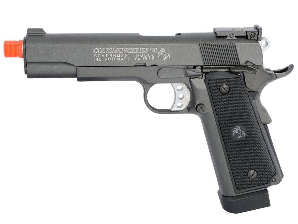 Colt 1911 MKIV Blowback CO2 Airsoft gun