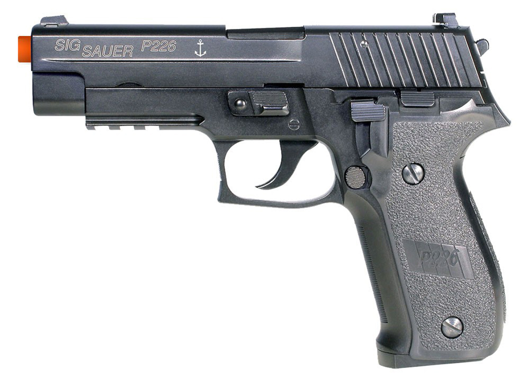 Cybergun Sig Sauer P226 Navy Gas Blowback Airsoft Pistol