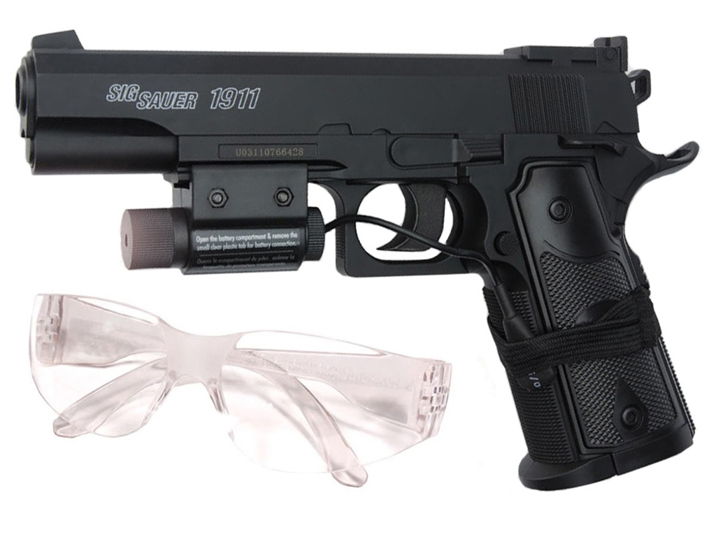 Sig Sauer GSR 1911 4.5mm BB Pistol Starter Kit