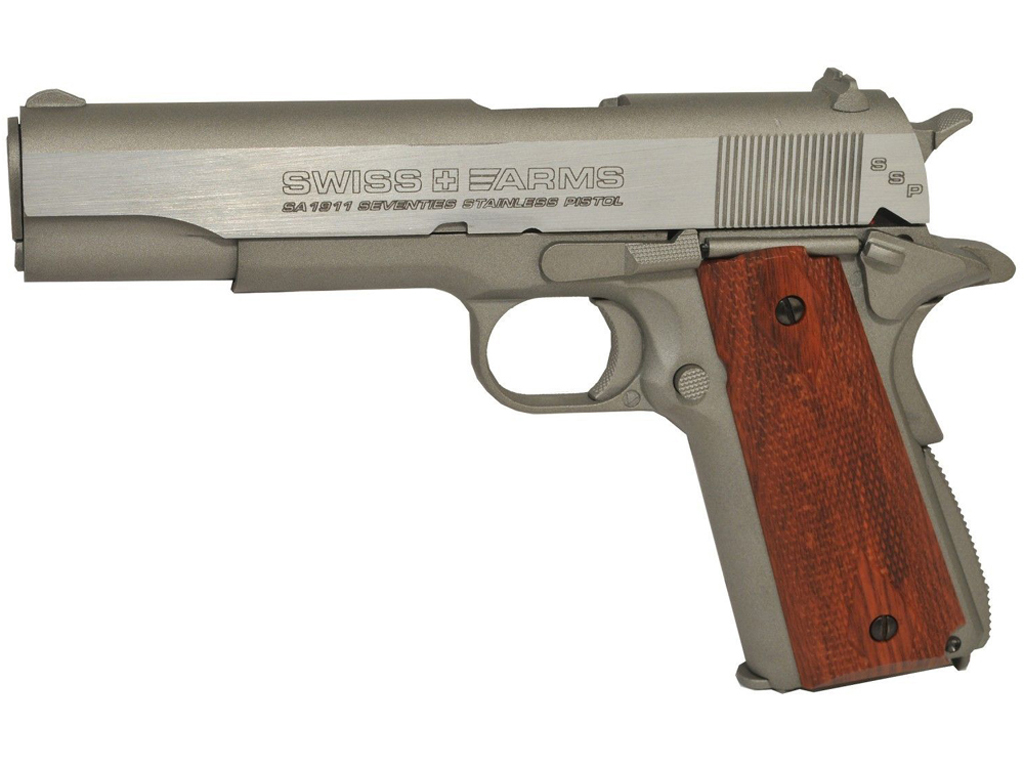 Swiss Arms SA1911 SSP CO2 Blowback Steel BB Pistol