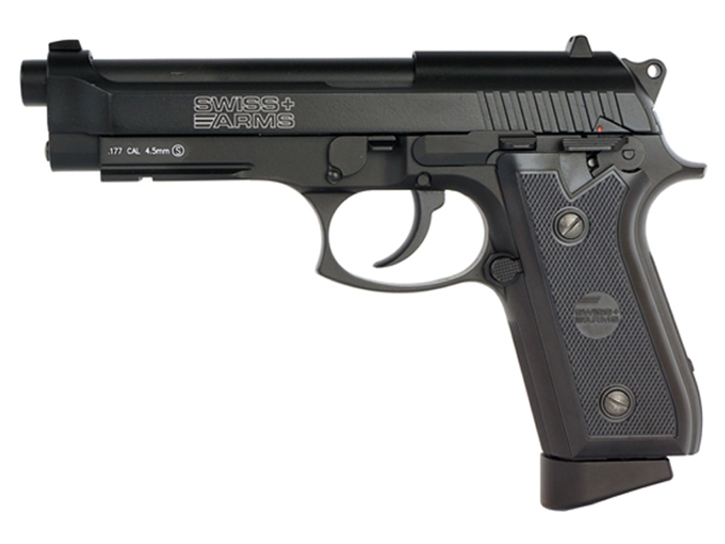 Swiss Arms .177 Caliber P92 CO2 Steel BB Pistol