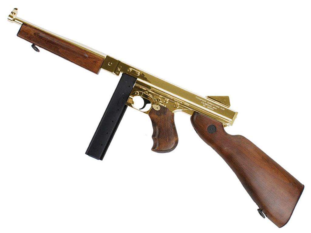 Cybergun King Arms M1A1 Thompson AEG NBB Airsoft Rifle