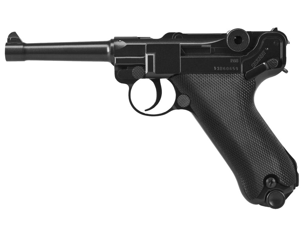 Umarex Legends Luger P08 CO2 NBB Steel BB gun