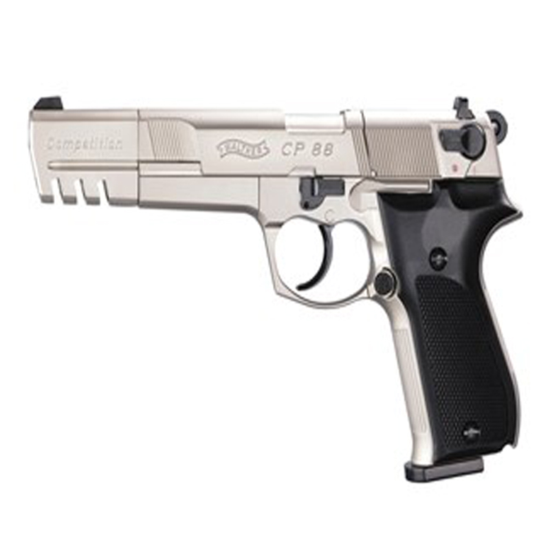 Walther Nickel Black CP88 Competition CO2 Pellet gun