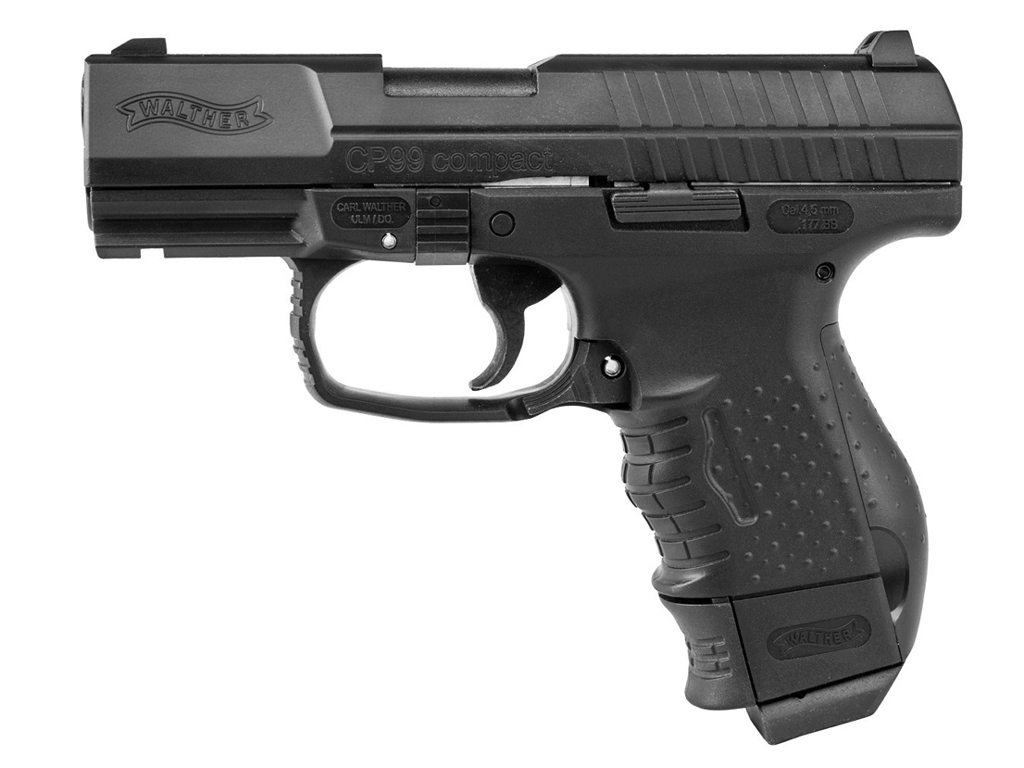 Umarex Walther CP99 Compact CO2 Blowback Steel BB Pistol