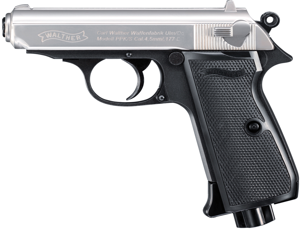 Walther Nickel Slide PPK S CO2 Air gun