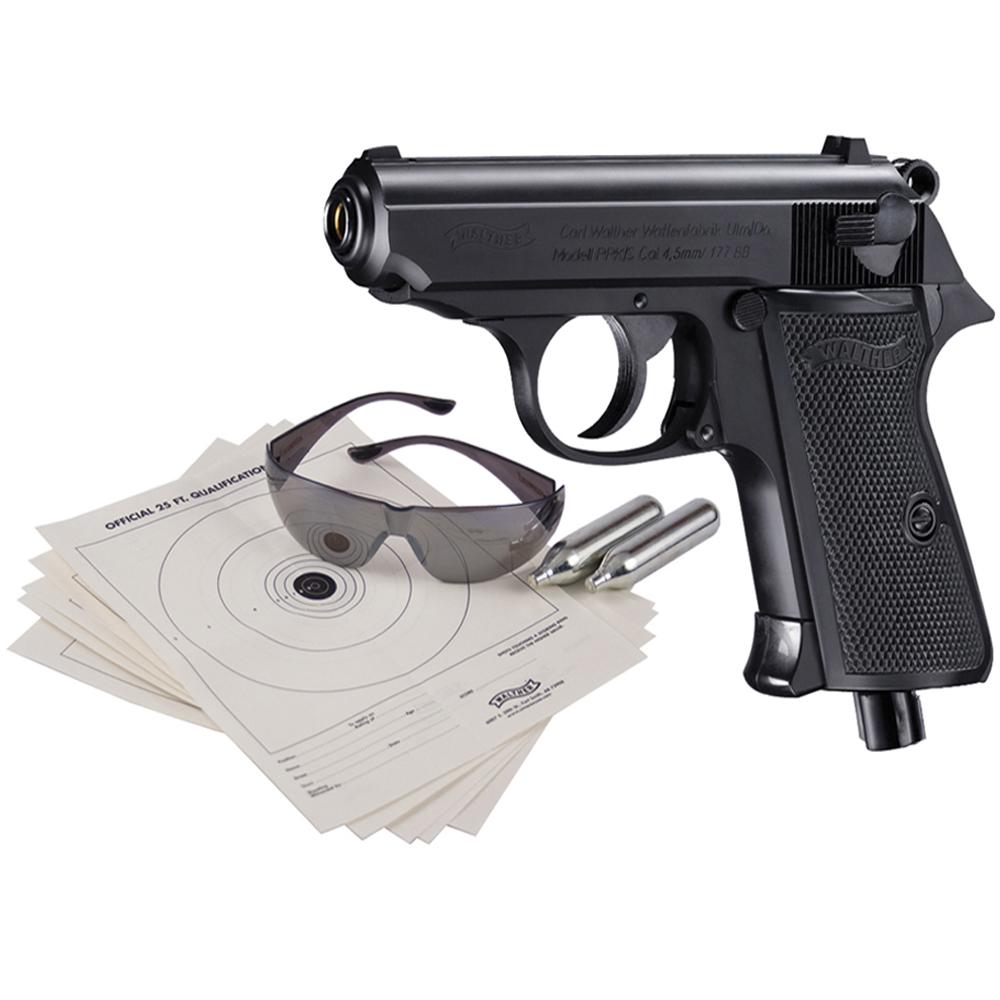 Walther 2252213 Black Kit PPK S CO2 Air Pistol | ReplicaAirguns.us