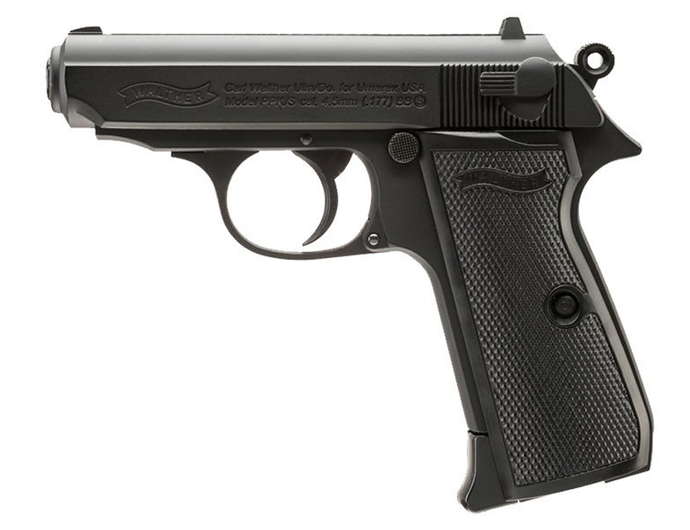 walther ppk s co2 4 5mm bb pistol replicaairguns us rh replicaairguns us