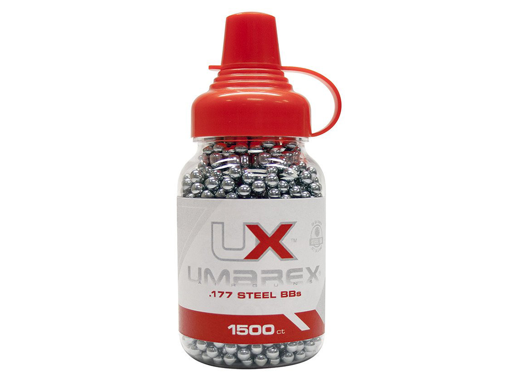 Umarex Precision Steel BB's 1500-Pack