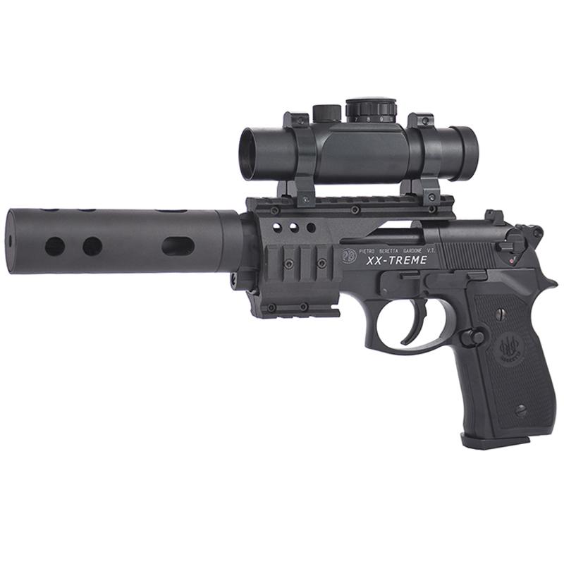 Beretta Tactical M92FS XX Treme Black