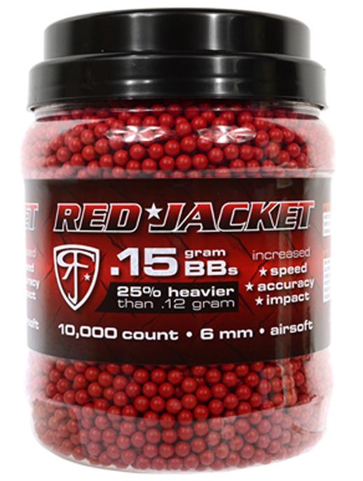 Umarex Red Jacket 0.15 Airsoft BB's 10000-CT