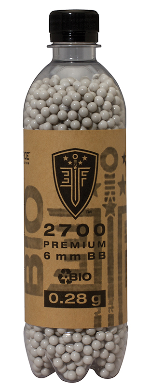 Elite Force Biodegradable 0.28 Airsoft BB's 2700-CT