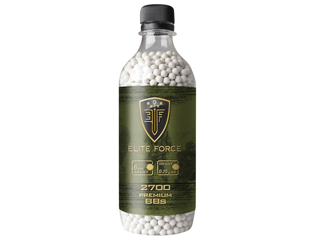 Elite Force Premium Airsoft BBs 2700ct