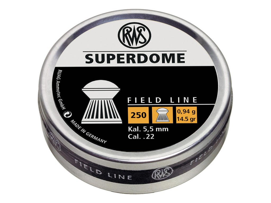 RWS Superdome .22 Pellets 250-Pack