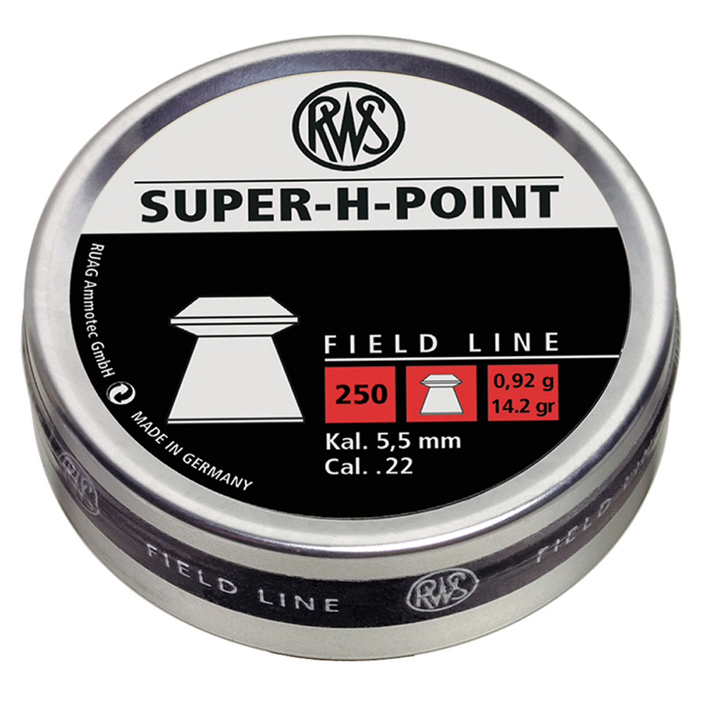RWS Super H-Point .22 Pellets 250-Pack