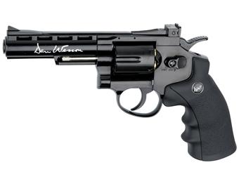 Dan Wesson Revolver - 4 Inch Black Steel BB