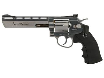Dan Wesson 6 Inch Silver Pellet Airgun
