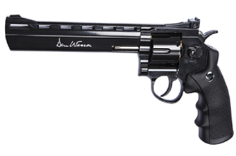 Dan Wesson 8 Inch Black Plated 4.5Mm Pellet Gun