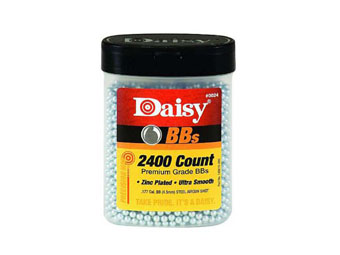 Daisy Premium Steel BB's 2400-Pack