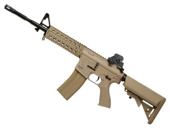 G&G Top Tech TR15 Raider L Desert Tan Airsoft Rifle