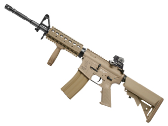 G&G Top Tech TR16 R4 Commando Desert Tan Airsoft Rifle
